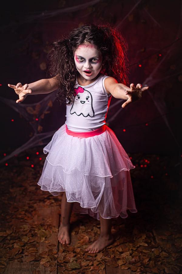 Fantasia Fantasminha Halloween