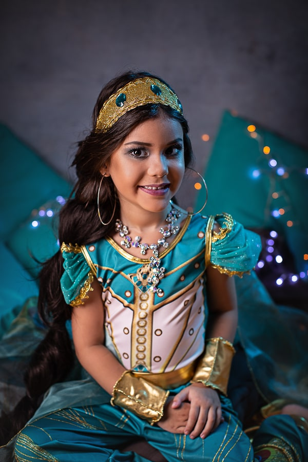 Fantasia Princesa da Arábia- Verde