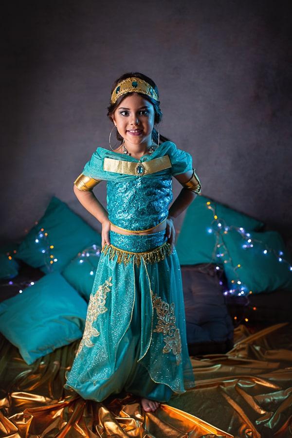 Fantasia Princesa da Arábia- Verde Luxo