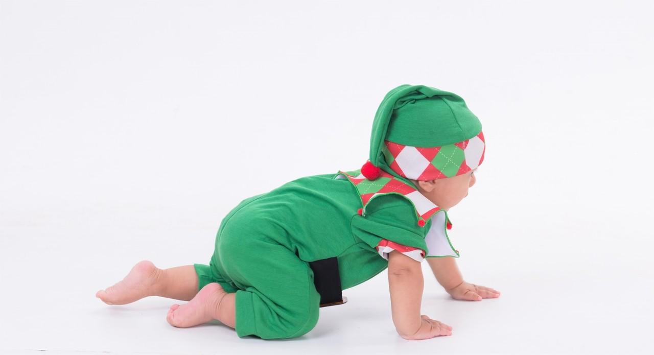 Fantasia Macacão Elfo Natal
