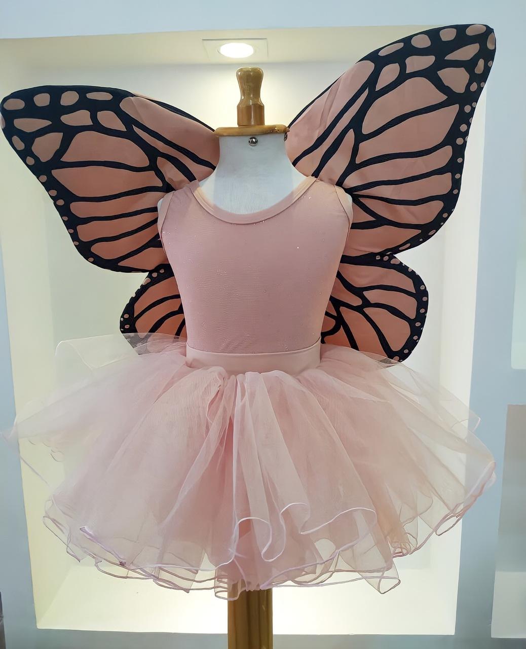 Fantasia Fada Nude - borboleta
