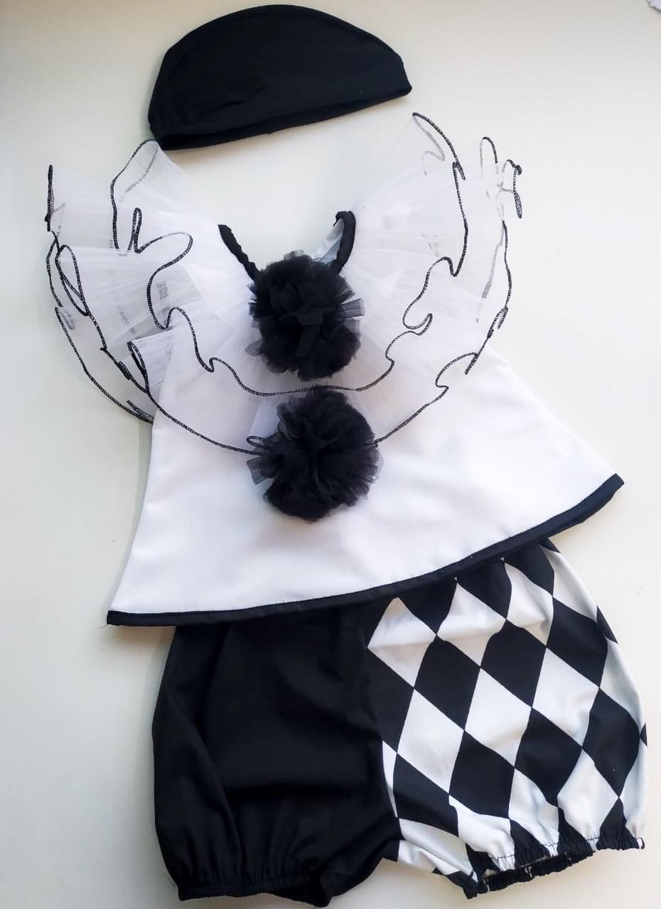 Fantasia Palhaço Pierrot