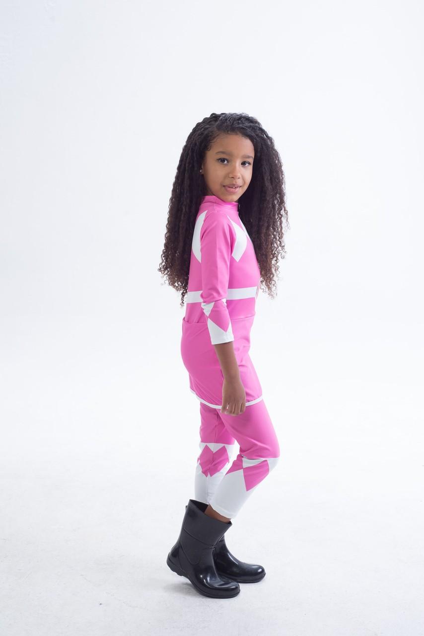 Fantasia Power Rangers Rosa