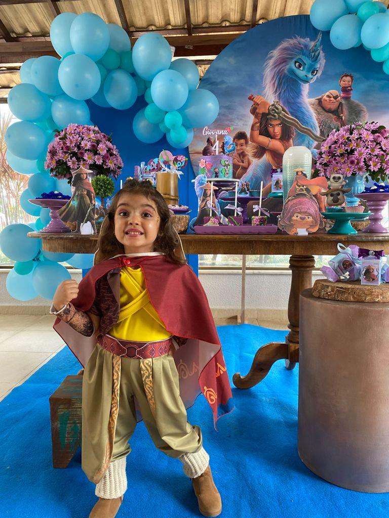 Fantasia Princesa Raya