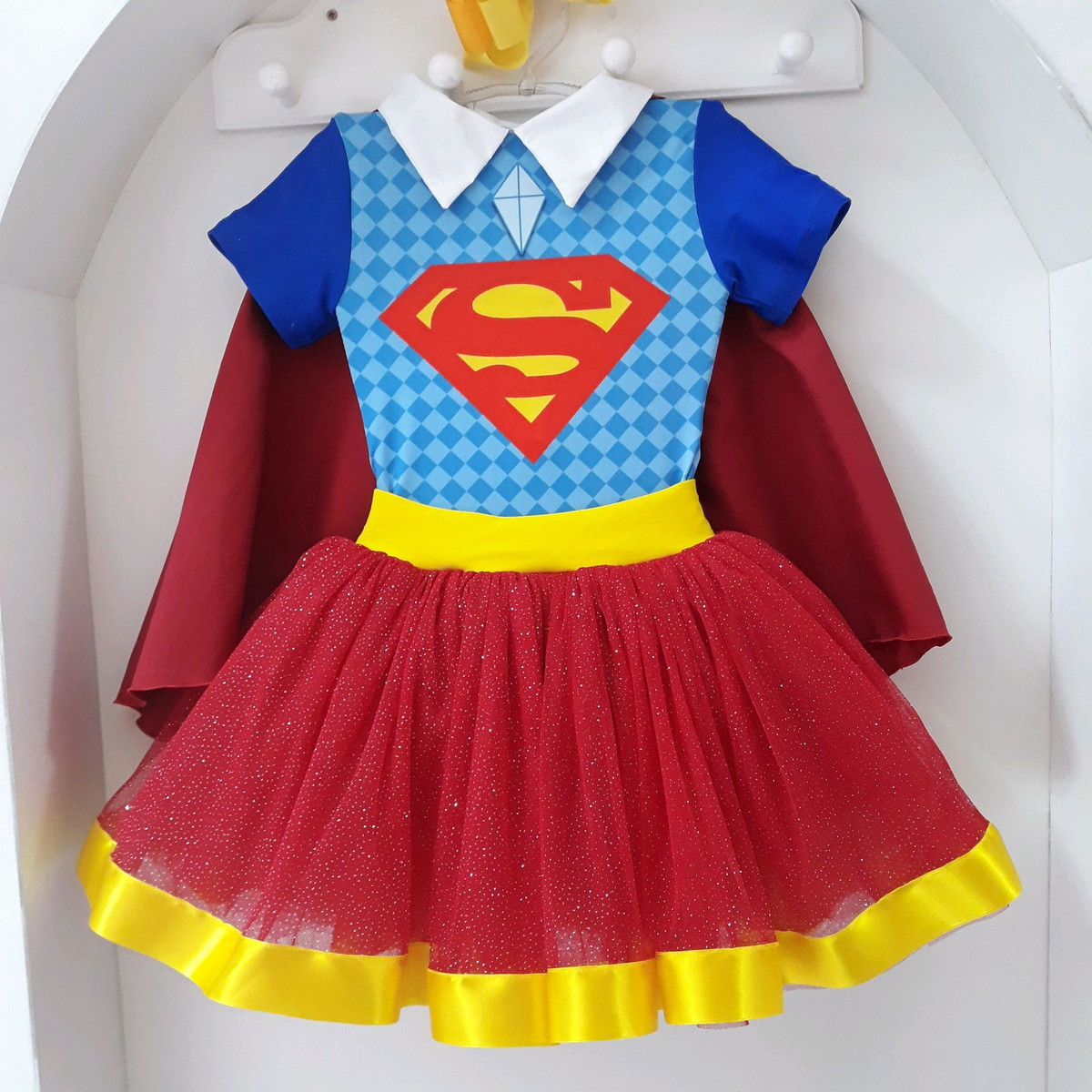 Fantasia Tutu Super Girl