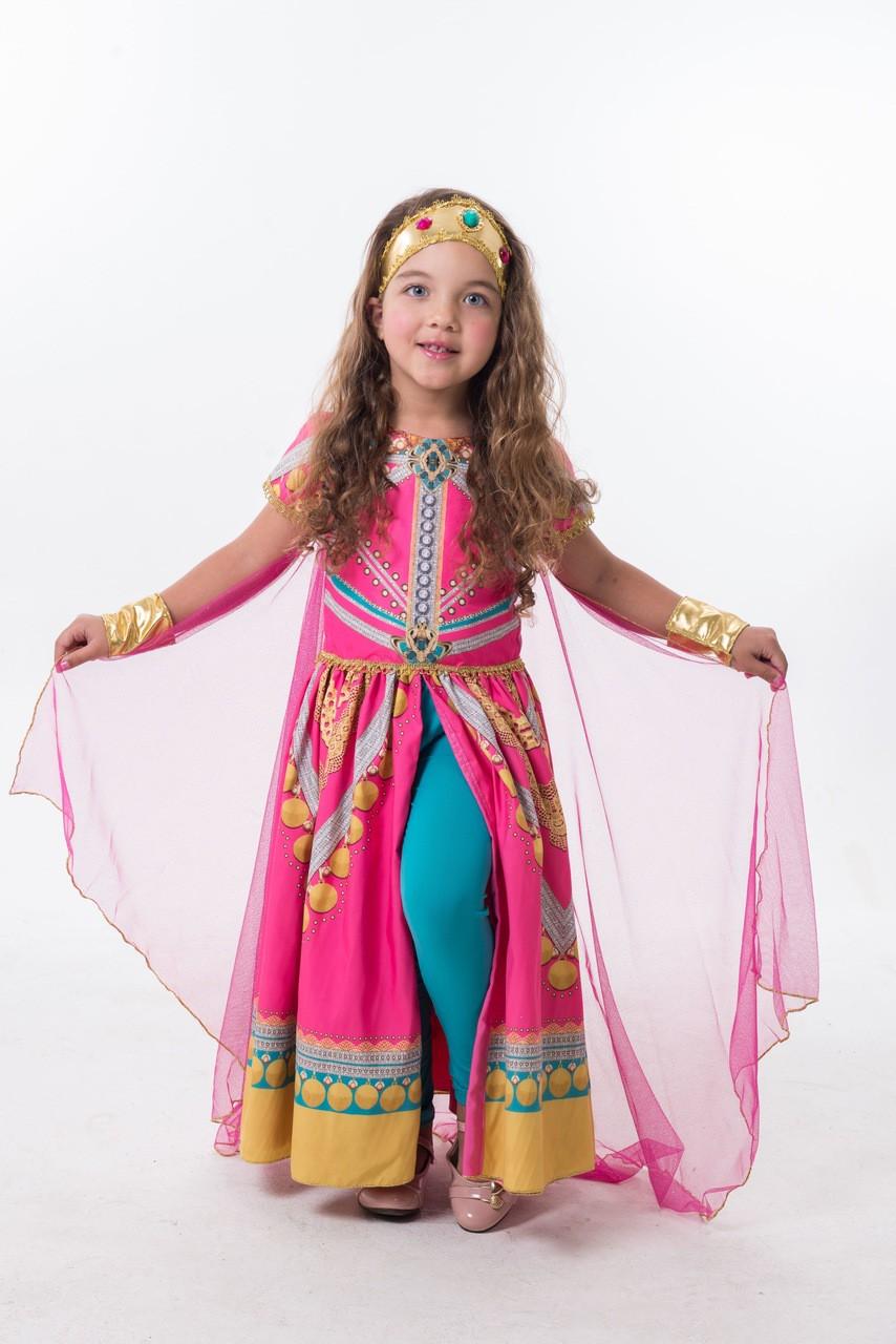 Fantasia Princesa da Arábia - Rosa Luxo