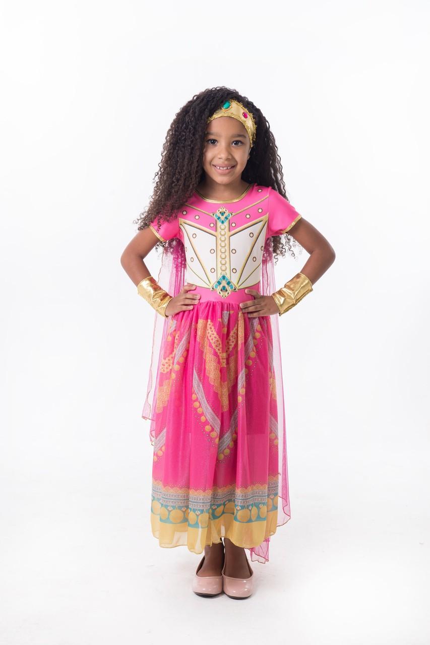 Fantasia Princesa da Arábia - Rosa