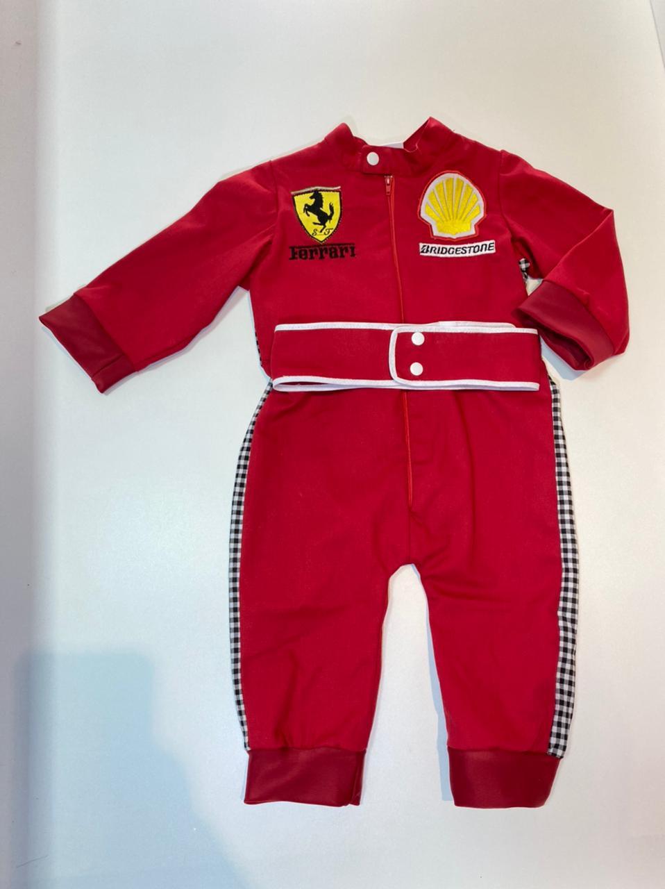 Macacão Ferrari - Fórmula 1