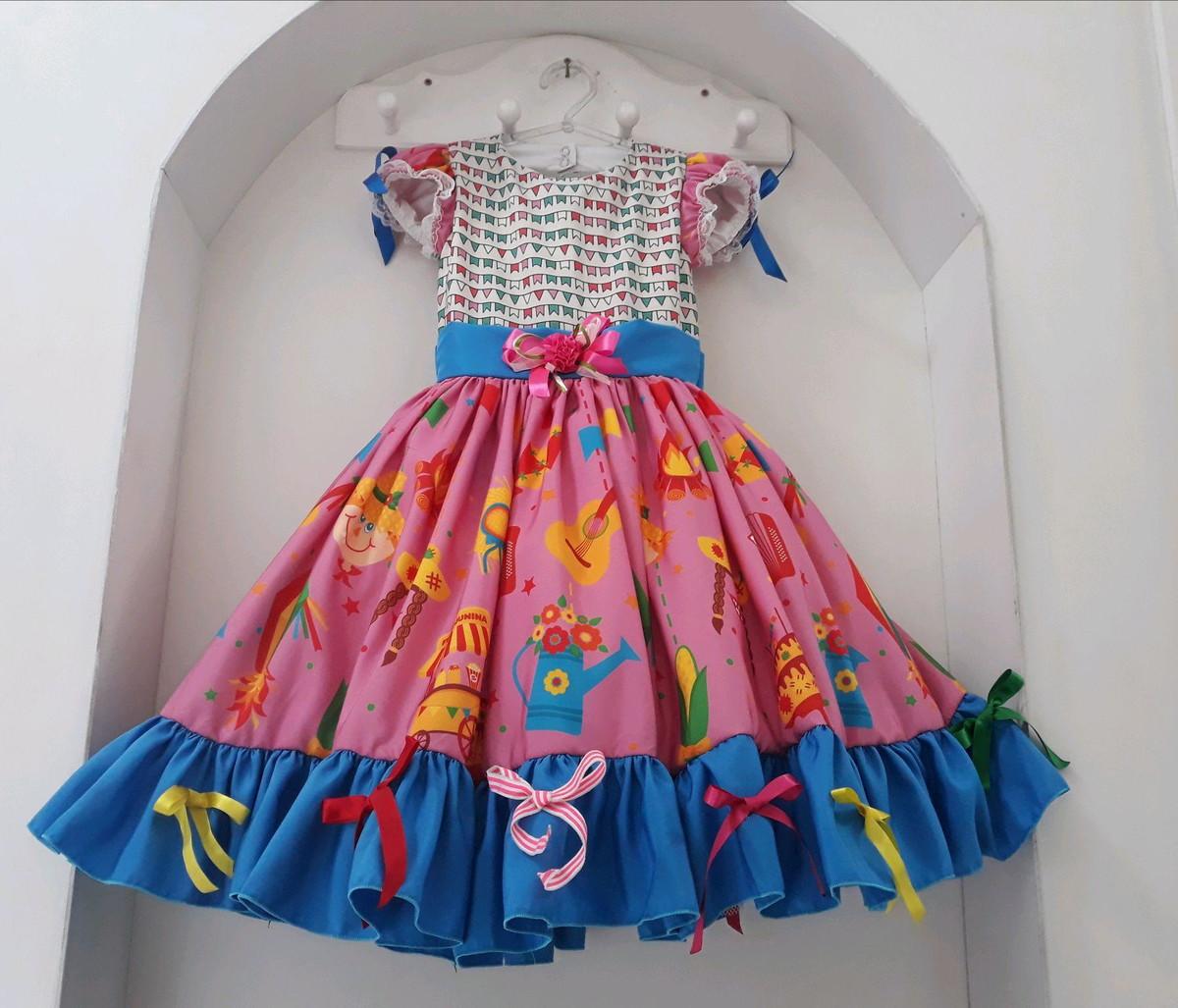 Vestido de quaderilha - adereços