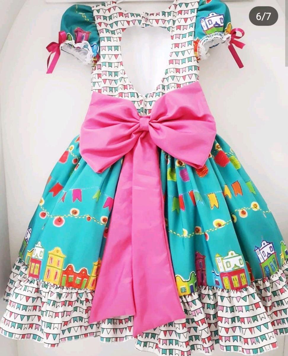 Vestido de quadrilha igrejinha