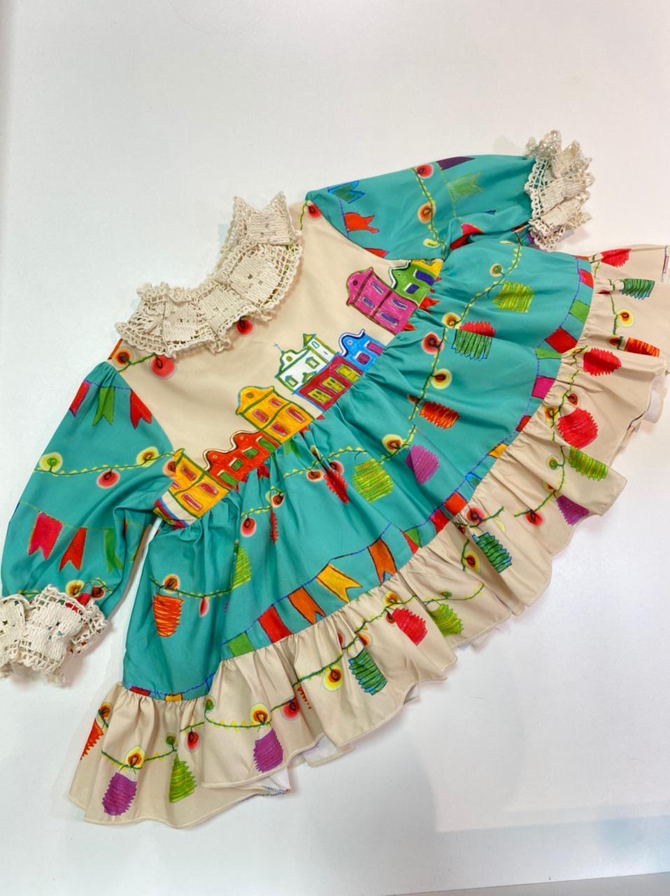 vestido junino igrejinha