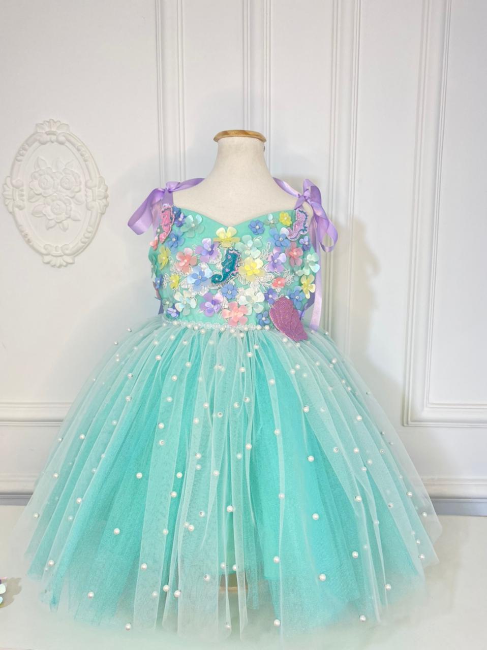 Vestido Sereia - Luxo