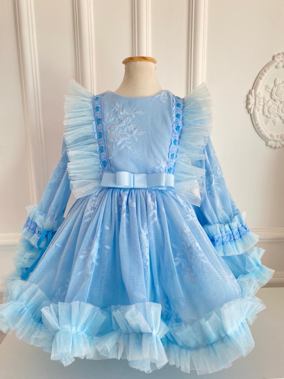 Vestido Vintage azul