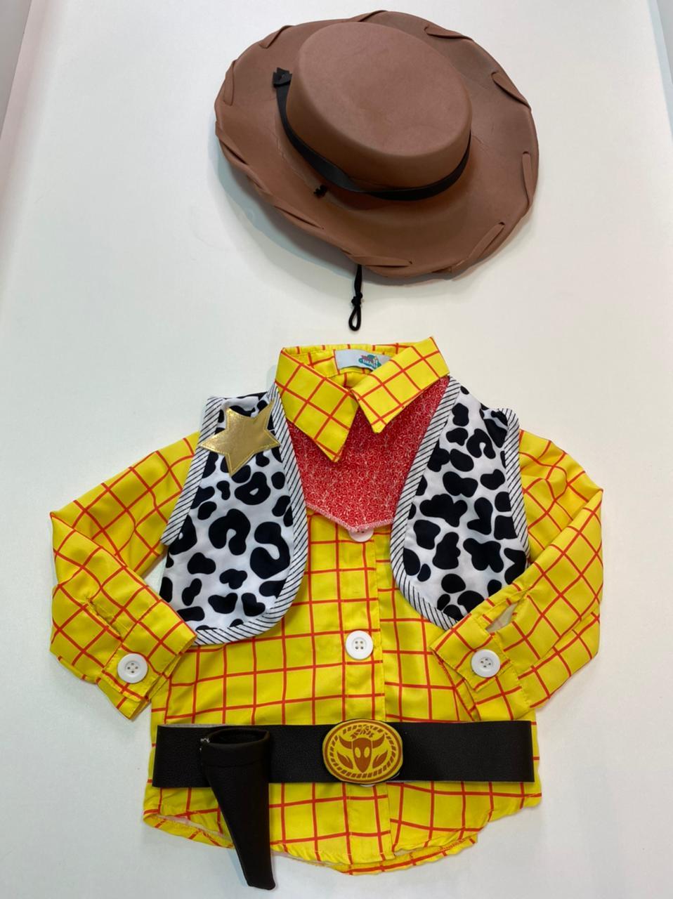 Fantasia Woody alfaiataria - Toy Story