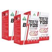 3x Testo Bhyos 60 cápsulas 400mg - RVS