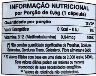 3x Vitamina B12-100% I.D.R-Orthomolecular-60 Vegancaps 9,94mcg