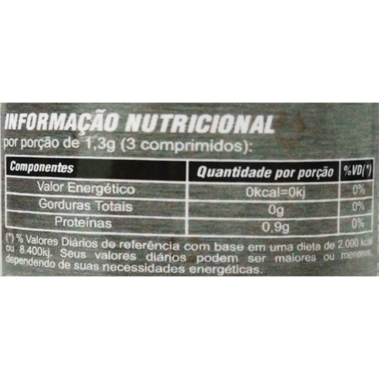 Clorella (importada) 100 comprimidos de 400 mg Mediervas