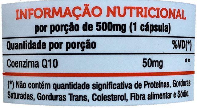 Coenzima Q10 60 cápsulas 500mg  Mediervas