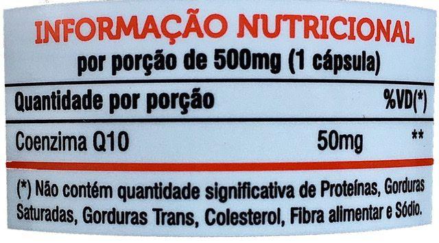 3x Coenzima Q10 – 60 cápsulas 500mg - Mediervas
