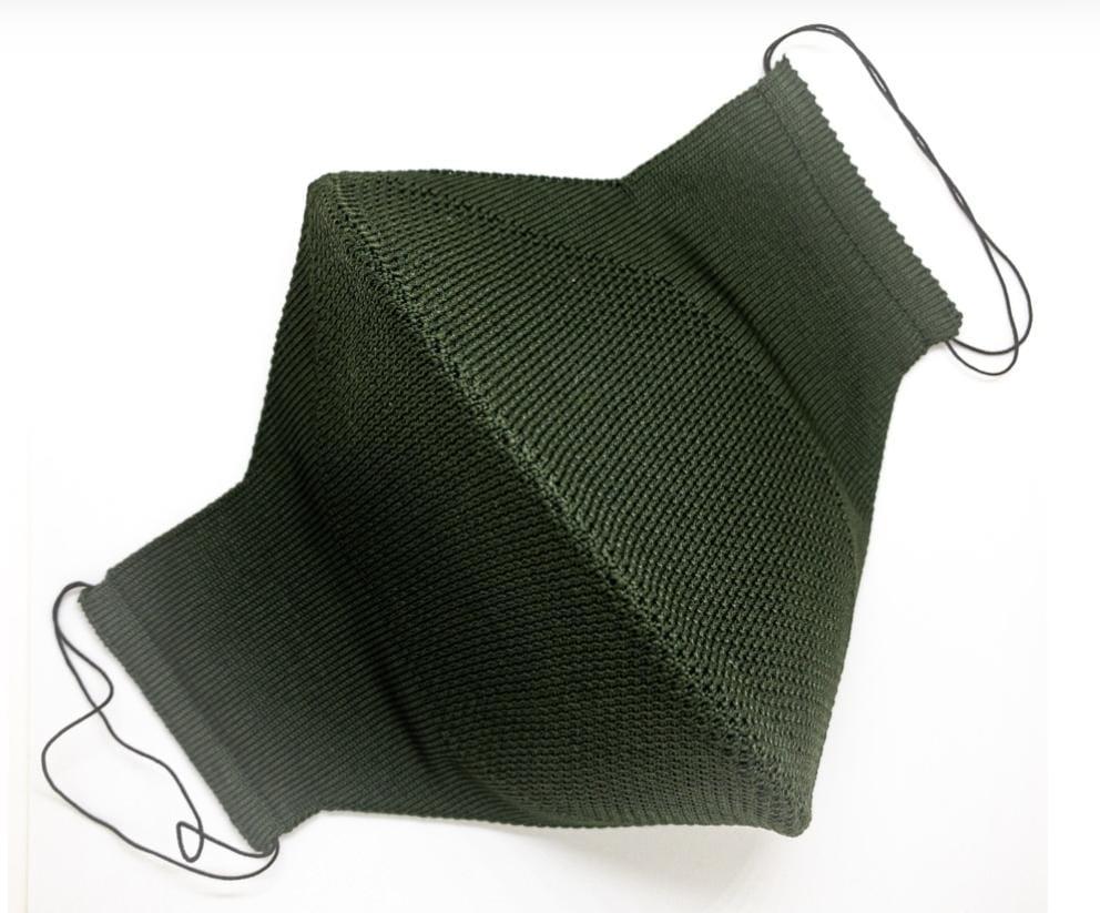 Máscara Anatômica 3D com fio Poliamida - Verde