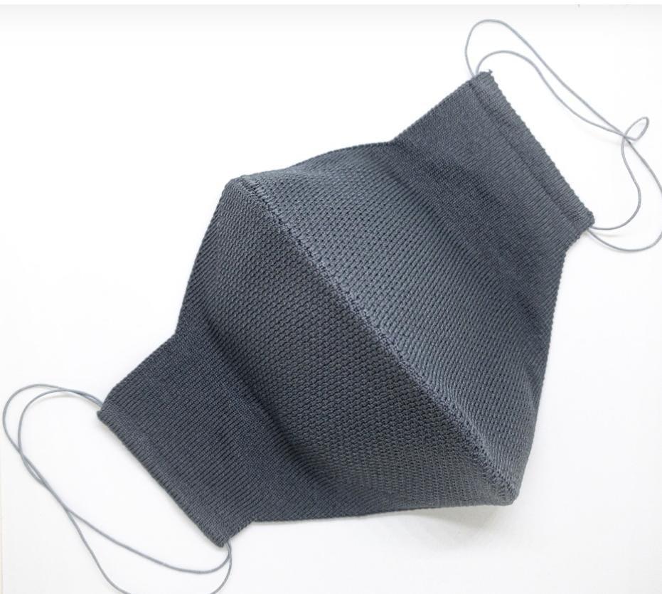 Máscara Anatômica 3D com fio Poliamida - Chumbo