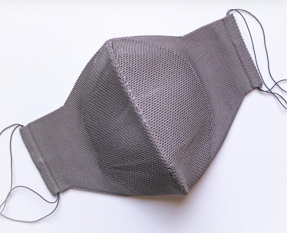 Máscara Anatômica 3D com fio Poliamida - Cinza
