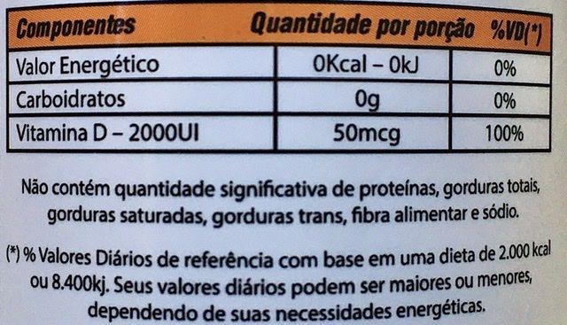Vitamina D3 100 cápsulas 2000UI Mediervas