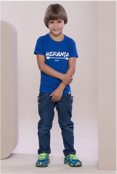 Camiseta Herança Azul Infantil