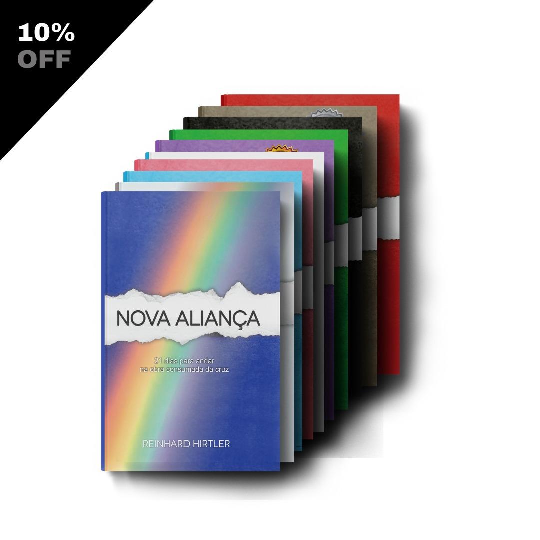 Coleção Nova Aliança - Kit c/ 10 livros