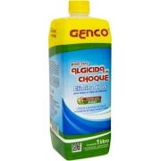 Kit Com 10 Frascos De Algicida De Manutenção 1L - Genco