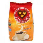 Café em pó 3 corações - Tradicional - 500 gramas