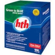 Cloro Green To Blue Hth 900g