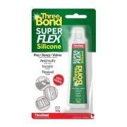 Cola De Silicone Three Bond Super Flex 50g