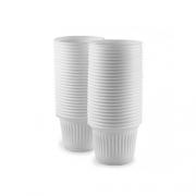 Copo descartável 50 ml com 100 unidades - TopForm