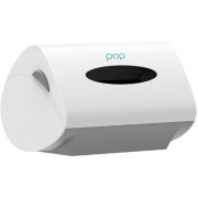 Dispenser papel toalha interfolha 2/3 dobras Pop 2403 Biovis CX 1 UN