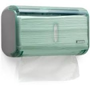 Dispenser papel toalha interfolha compacto verde C19821 Premisse CX 1 UN