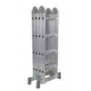 Escada Articulada De Alumínio 13X1 com 16 Degraus (4X4)