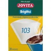 Filtro de Papel 103 Jovita Brigitta 30 unidades