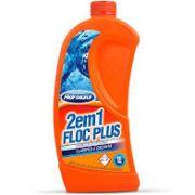 Floc Plus 2 em 1 Hidroazul 1l
