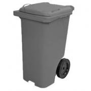 Lixeira Container Com Rodas Cinza 240L