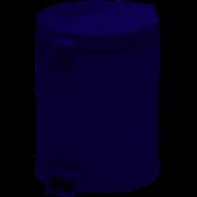 Lixeira metal com pedal e recipiente branca 4,5L – Viel CX 1 UN