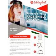 Mascara Protetora Facial - Face Shield - Goldenplast