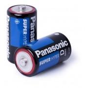 Pilha Panasonic Grande Comum – Hyper Drive D - Caixa com 10