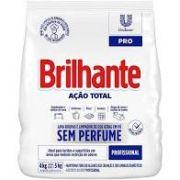 Sabão em pó sem perfume -  Brilhante – 4 kg
