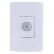 Sensor de Presença de Embutir com Fotocélula Microcontrolado 180º s/ Chave - Qualitronix