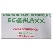 Toalha de papel interfolha - Ecomaxx