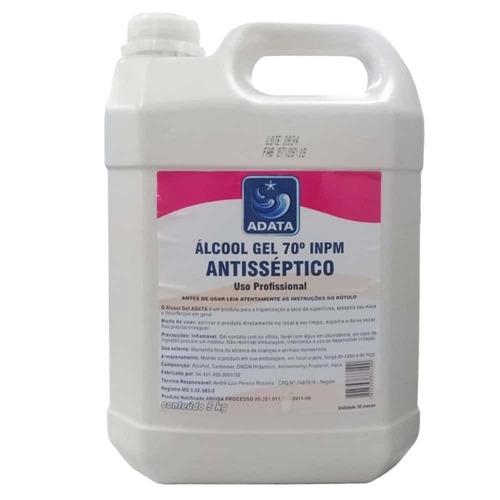 Álcool Gel 70% Adata - 5 Litros
