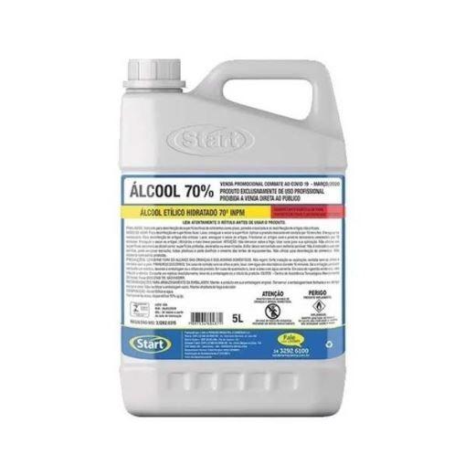 Álcool Líquido Natural 70° 5L - Start