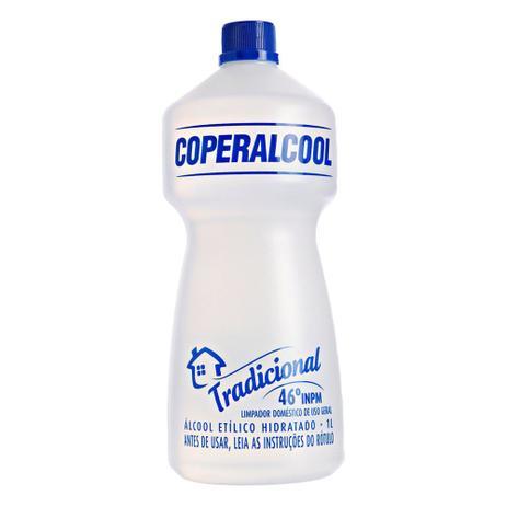Álcool Líquido Tradicional 46° INPM Coperalcool 1 Litro
