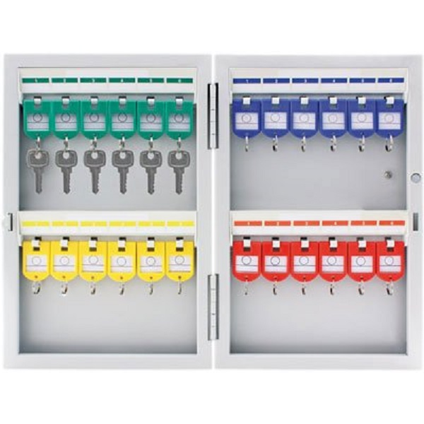 Armário Organizador de chaves em aço para 24 chaves 8701 Easy Space